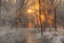 Talvimaisemat~ Winterscenery