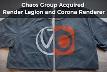 Chaos Group Acquired Render Legion with Corona Renderer