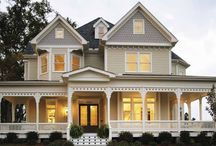 Queen Anne Victorian Homes / My dream home from the Victorian era but American designs