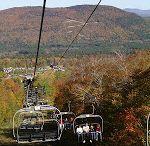 Fall Foliage at Ski Resorts / Fall festivals, foliage, Oktoberfest and pre-season pass sales at New England Ski Resorts!  Even Wife Carrying at @Sunday River!