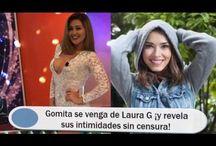 Gomita se venga de Laura G ¡y revela sus intimidades sin censura!
