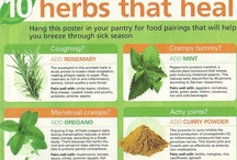 herbal & organic/healthy tips & remedies  / by Viviene Schofield Thickbroom