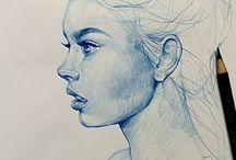 Illustration - Portraits