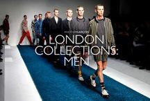 London Collection MEN 2015 / #londonfashionweek #fashion #men