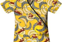 Curious George Scrubs / Curious George Scrub Tops