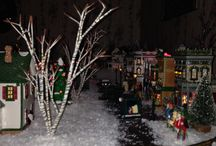 My Christmas Garden 2013 / LGB and Snow Village