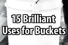 bucket ideas