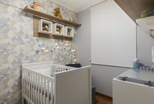 Quarto de Bebê / Arte e decoração para o espaço de nossos pequenos.