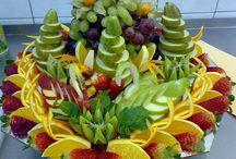 découpe de fruits exotique