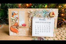 календарь скрап идеи
