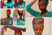 Tutos foulards cheveux