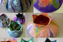 FELTED POTS