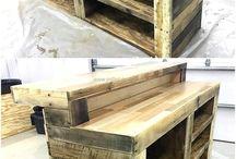 Wooden bar ideas