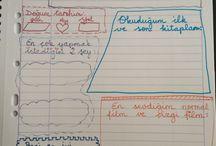 1.sınıf yazı için eğlenceli çalışmalar / 1.sınıfı bitiren çocuklar için bir annenin uydurduğu yazlık çalışmalar