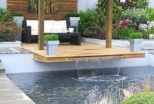 design (roofing&water&pergola&nature)