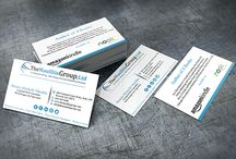 Business Cards / Business Card Design by Atlanta Graphic Designers at The Mauldin Group, Ltd.