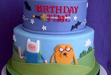 adventure time cakes