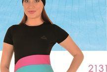 SEMI COVERED BURKINI SWIMWEAR / https://www.tesetturmayom.com/en/semi-covered-burkini-swimwear