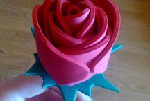 Goma eva - Shop online Decoraconideas / Detalles y regalos realizados con goma eva.