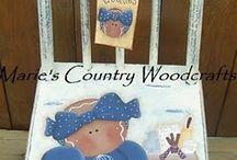 mobili pittura country