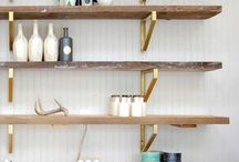 Shelves / by Vickie