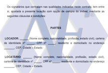 Modelo de Contrato de Locação para Casa ou Residencia com opção de Compra