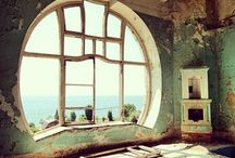 pencereden gorulen manzara