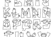 ABC KIDS IX / Abecedario Infantil de Caritas de Niños