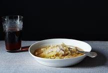 Cookbook - Soup, salad and breadsticks. / by Debra Bible