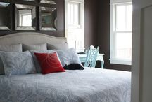 Above the bed / Above the bed wall decor ideas