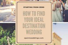 Best Destination Wedding Tips: spain4weddings.com