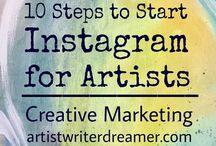starta eget/sälja konst