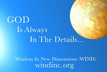 Wisdom In New Dimensions (WIND) / Empowering Individuals, Communities and the World At Large...