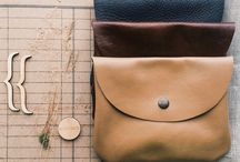 Leather pouch. Cosmetic bag. / Leather pouch. Cosmetic bag. Made by LeoFisherbags http://instagram.com/leofisher_bags . Russia. Saint-Petersburg.