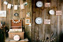 ラスティックビンテージ//rustic vintage / recycled, lace, cans & glass bottles