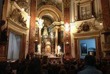 Bendición del Relicario de San Juan Pablo II / Imágenes del relicario que Don Carlos Osoro entregó a la Basílica de Nuestra Señora de los Desamparados en Valencia, Octubre 2014