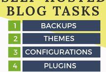 Start a blog / How to start a blog!