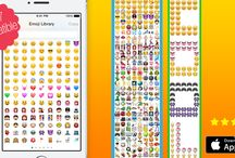 Emoji Keyboard for Me / Express your emotions with tons of EXCLUSIVE emoticons and stickers! Send stylish messages with ⓕⓐⓝⓒⓨ ⓕⓞⓝⓣⓢ and spice things up with emoticons from the ultimate emoji library! Download now: http://bit.ly/1w5r30a FREE version: http://bit.ly/1ExsWC4 / by Apalon