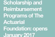 Scholarship Programs of The Actuarial Foundation