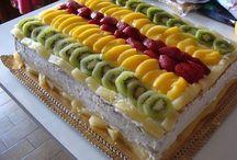 bolos de frutos