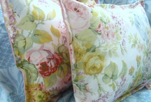 Shams and Pillows / Custom crafted shams and pillows from Ralph Lauren and other Designer fabrics!