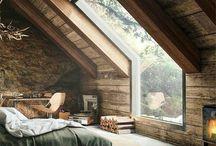 Interiér - drevenice