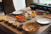 Raclette und Fonduesoßen