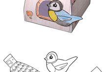 putnu būrītis.