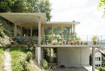 Haus Fassade Front + innen