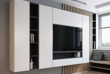 Wall and TV units