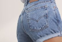2018 High Waist Denim Shorts #shorts #denim #highwaist / Ok, 2018 is here and it's time to get our denim shorts in time for spring and summer! High Waist Shorts are back!!! 1985 brings us back shorts you called mom and shorts and mkaes them super cool and you new best friend!