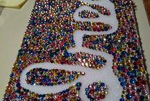 Mardi Gras Beads Repurposed / by Lori Allred {allreddesign.net}
