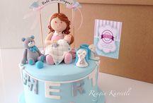 Baby Shower / Bebek Pastaları - Baby Cakes