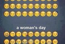 Mans day vs woman's day